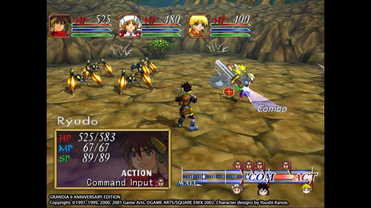 Grandia II: Anniversary Edition