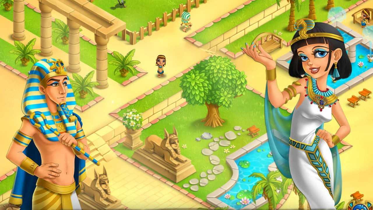 Legend of Egypt - Pharaohs Garden