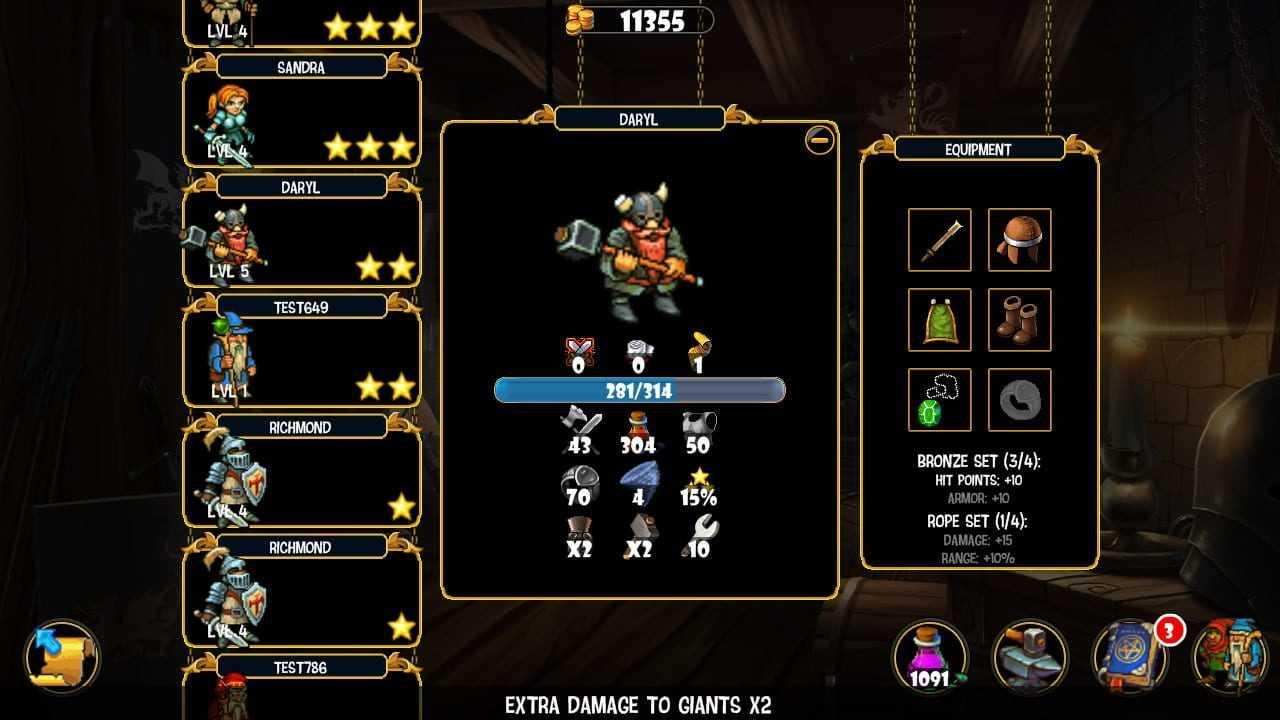 Royal Heroes Reviews, News, Descriptions, Walkthrough and System