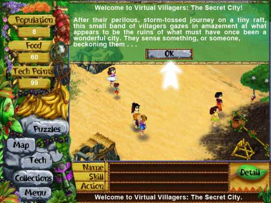 Virtual Villagers 3 for iPad