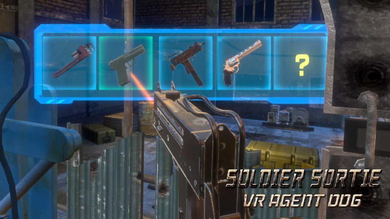 Soldier Sortie: VR Agent 006