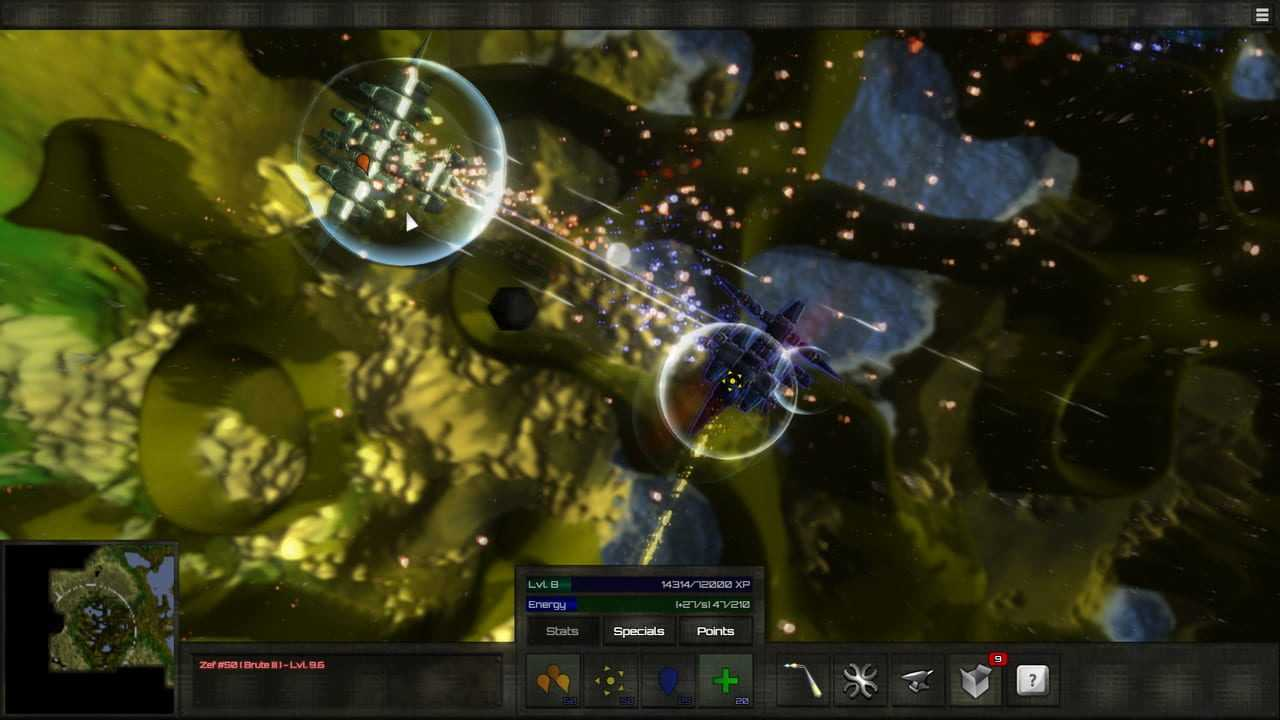 BlockShip Wars: Roguelike