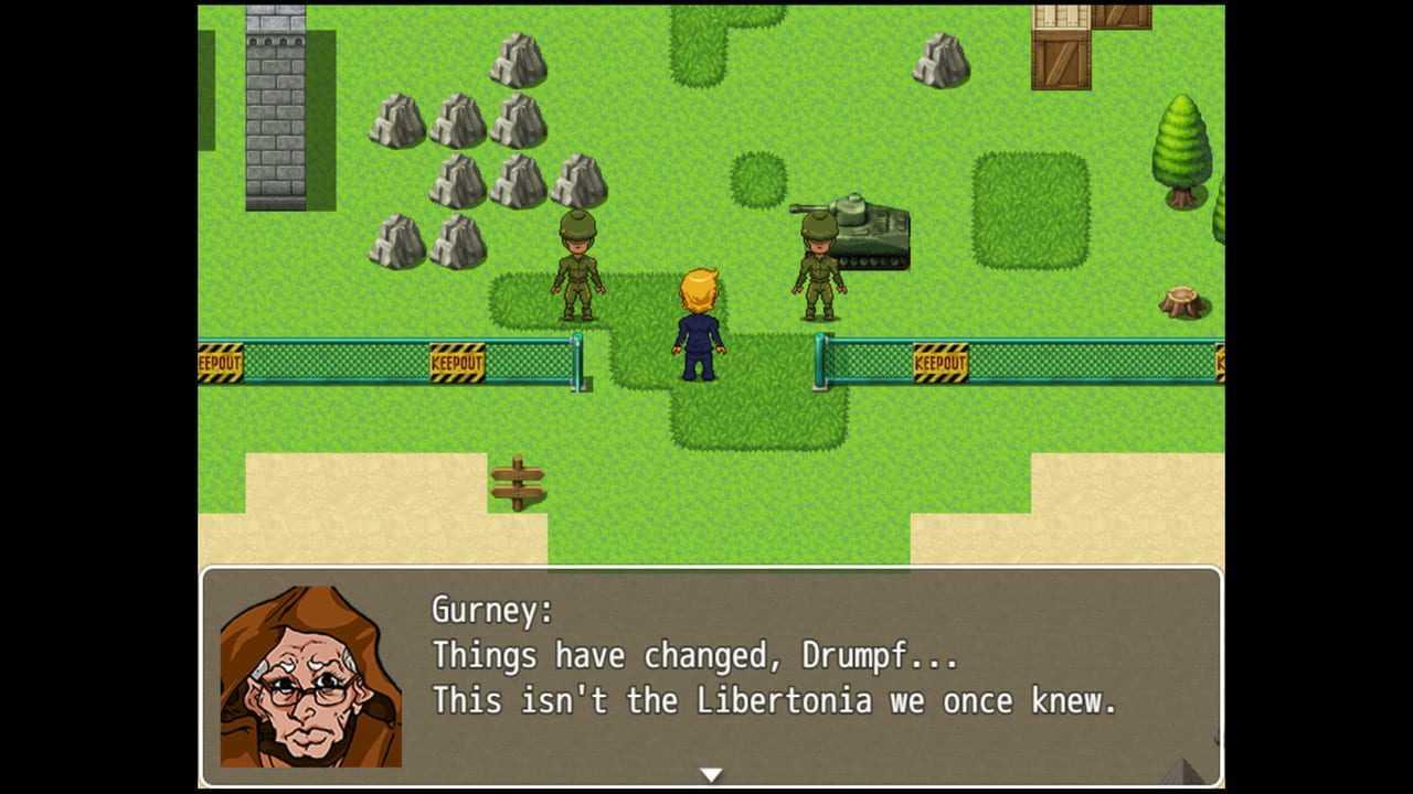 Drumpf: Rise Up, Libertonia!