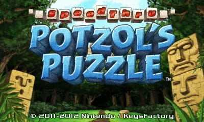 SpeedThru: Potzol's Puzzle