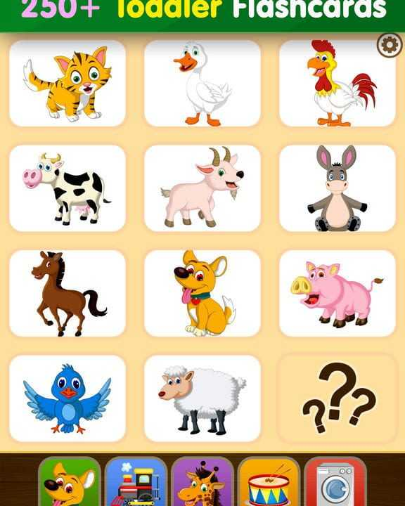 Toddler Flashcards HD: Baby Learning Games & Apps