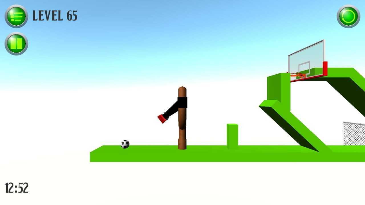 Score a goal (Physical football)