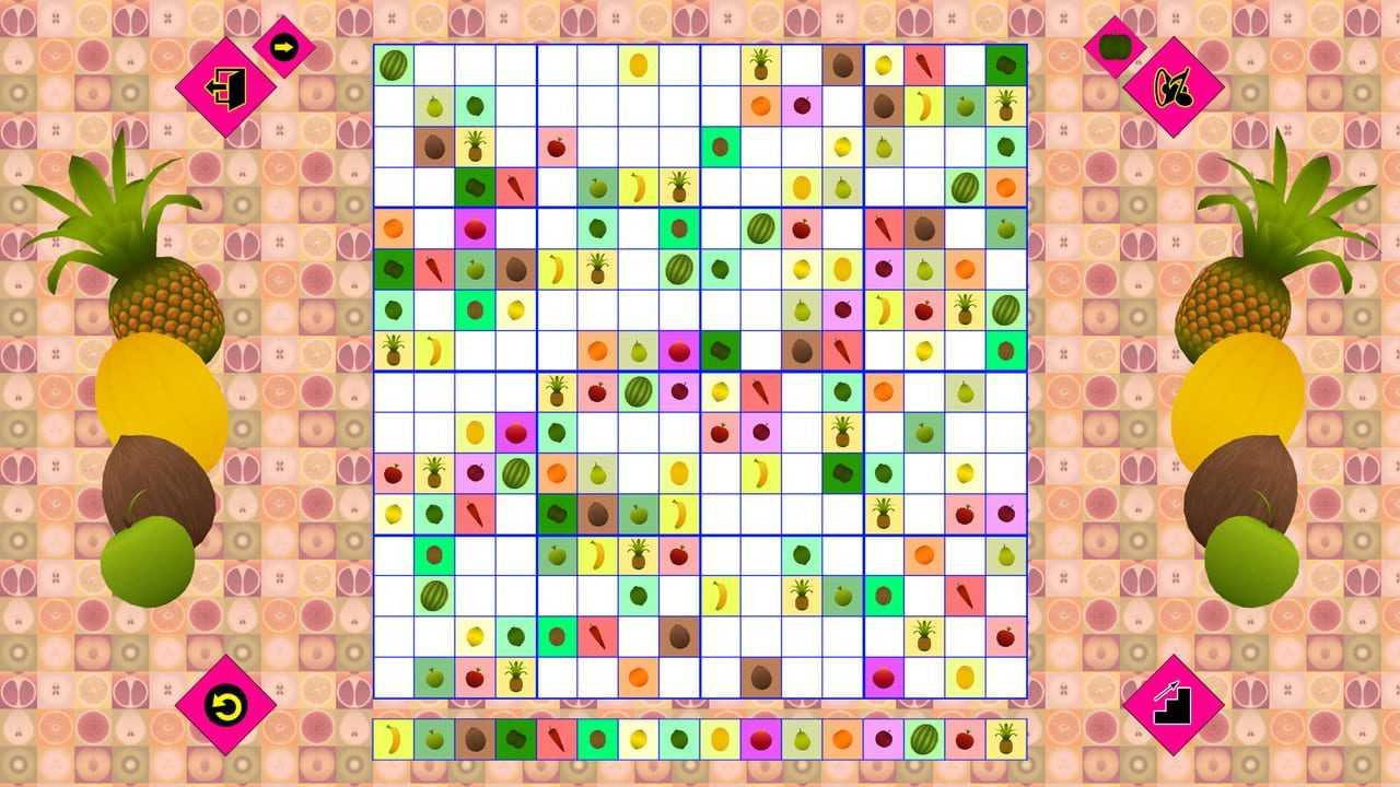 Fruit Sudoku� 3