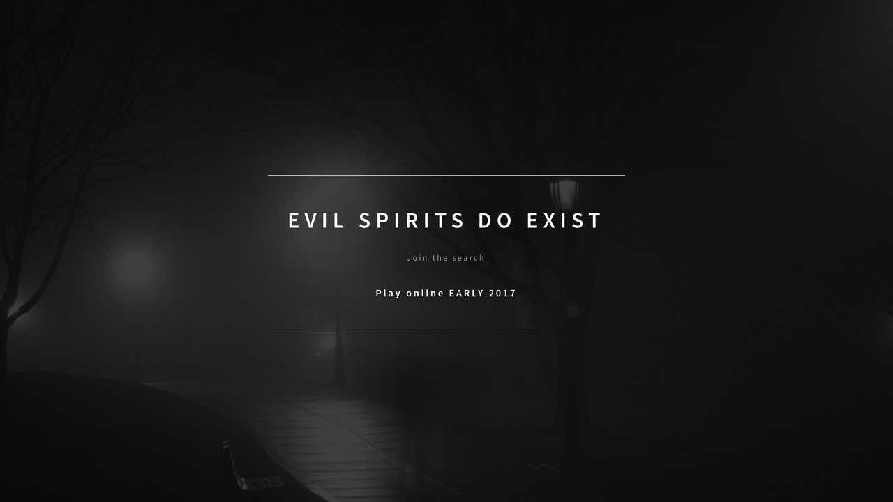 Evil Spirits Do Exist