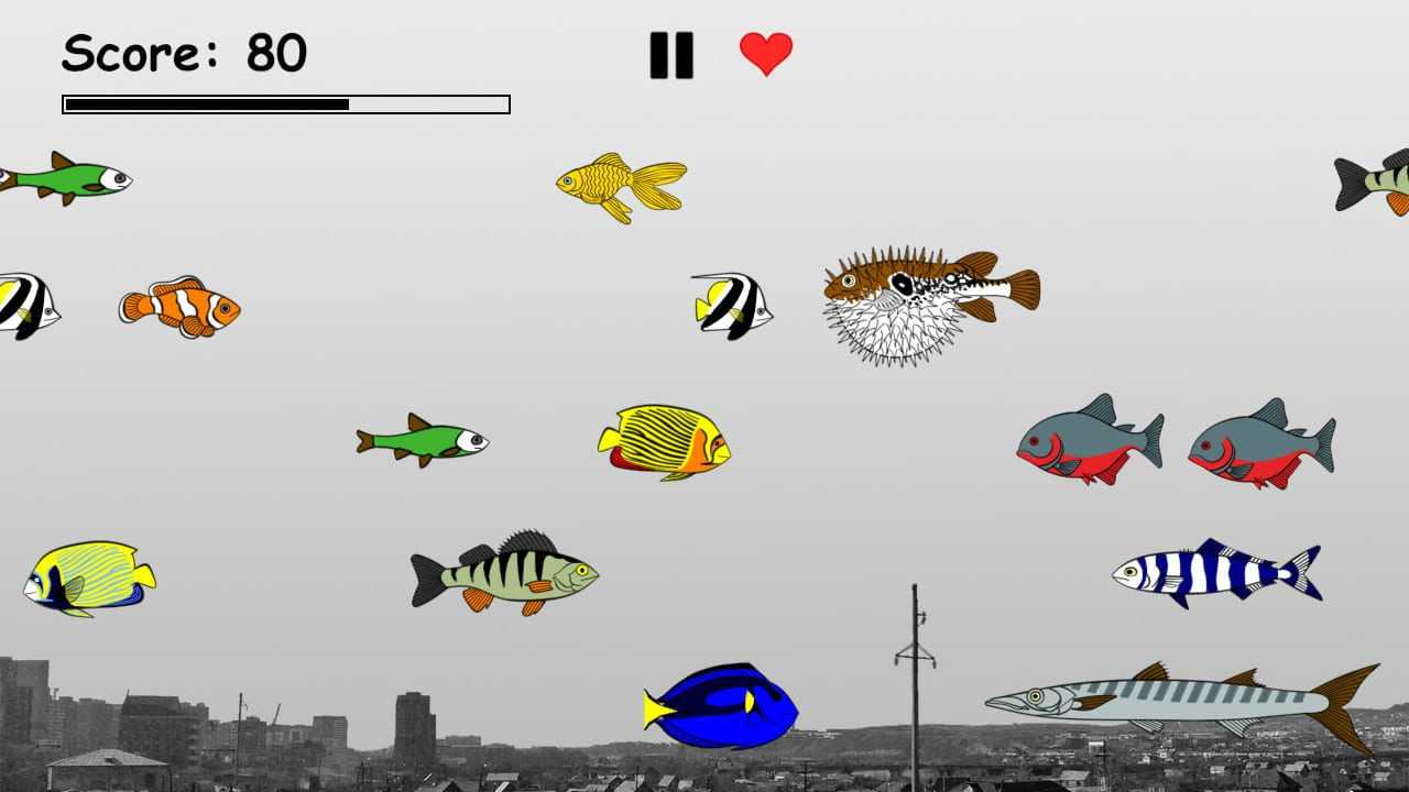 Hungry Games: Survive in a world of predatory fish