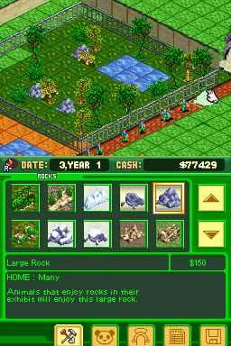 Zoo Tycoon DS Reviews, News, Descriptions, Walkthrough and System